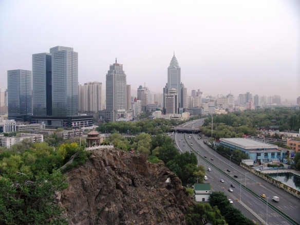Urumqi has been undergoing huge development following financial investment from eastern China. It bears the outward appearance of any other Chinese city.