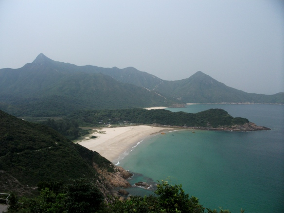 The beach of Tai Long Wan, New Territories, Hong Kong.