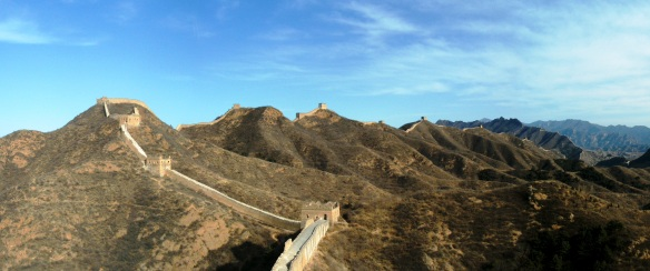Another photo of the Jinshanling Great Wall.